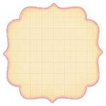 Making Memories - 12x12 Diecut Paper - Noteworthy Collection - Ava - Artisan Edge Pink