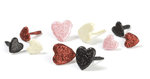 Making Memories - Love Story Collection - Valentine's Day - Shimmer Brads - Hearts
