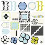 Making Memories - 5th Avenue Collection - Die Cuts - Sophia, CLEARANCE