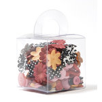 Making Memories - 5th Avenue Collection - Blossoms and Buttons Box - Elizabeth, CLEARANCE
