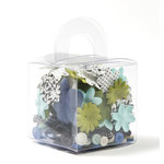 Making Memories - 5th Avenue Collection - Blossoms and Buttons Box - Sophia, CLEARANCE