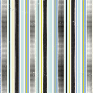Making Memories - 5th Avenue Collection -12x12 Paper - Sophia Foiled Stripe, CLEARANCE