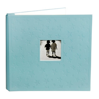 Making Memories - Animal Crackers Collection - 12x12 Leather Album - Jack Stars