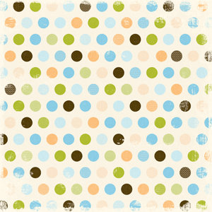 Making Memories - Animal Crackers Collection - 12x12 Paper - Jack Varnished Dot