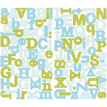 Making Memories - Animal Crackers Collection - Chipboard Alphabet Stickers - Jack