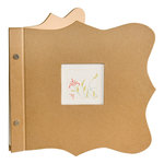Making Memories - Noteworthy Collection - 8x8 Mini Album - Plain
