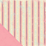 Making Memories - Noteworthy Collection - 12x12 Double Sided Paper - Delaney Stripe, CLEARANCE