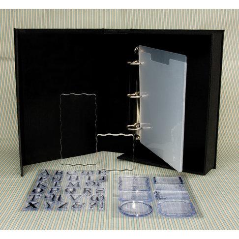 Making Memories - Clear Stamp Storage Binder