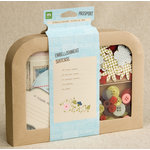 Making Memories - Passport Collection - Suitcase Embellishment Box, CLEARANCE