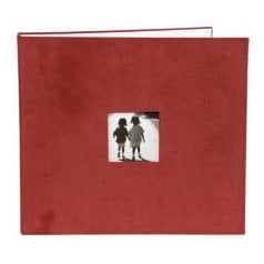 Making Memories - 12x12 Corduroy Album - 3-Ring - Red