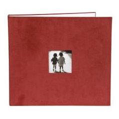 Making Memories - 12x12 Corduroy Album - 3-Ring - Red