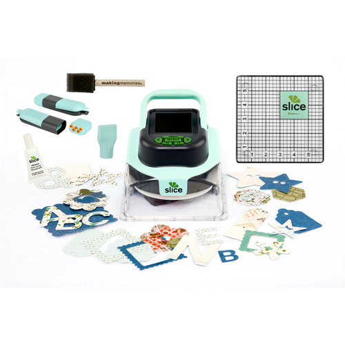 Making Memories - Slice Cordless Design Cutter Machine - Starter Kit