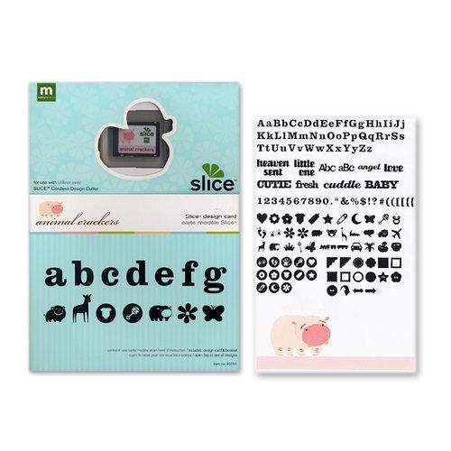Making Memories - Slice Design Card - Animal Crackers