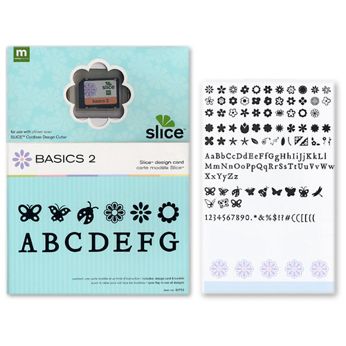 Making Memories - Slice Design Card - Basic Shapes 2