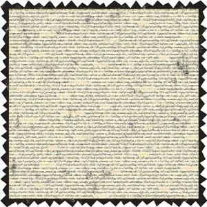 Making Memories - Spellbound Halloween Collection - 12 x 12 Die Cut Paper - Newsprint, CLEARANCE