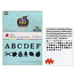 Making Memories - Slice Design Card - Fall - Back to School