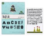 Making Memories - Slice Design Card - Christmas - Fa La La