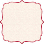Making Memories - Paperie Rouge Collection - 12 x 12 Die Cut Paper - Artisan Small Floral, CLEARANCE