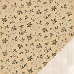 Making Memories - Paperie Mocha Collection - 12 x 12 Double Sided Paper - Floral, CLEARANCE