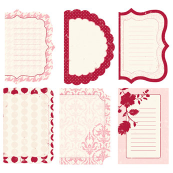 Making Memories - Paperie Collection - Spiral Journaling Book - Rouge, CLEARANCE