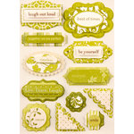 Making Memories - Paperie Collection - Dimensional Stickers - Greenhouse, CLEARANCE