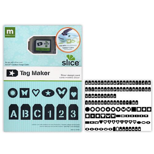 Making Memories - Slice Design Card - Tagmaker