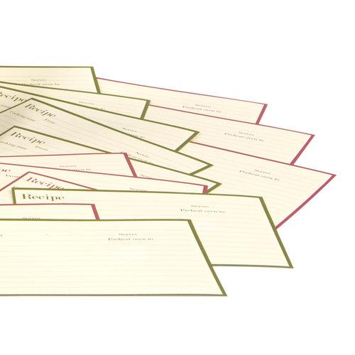 Making Memories - Fa La La Collection - Christmas - Recipe Book Refills