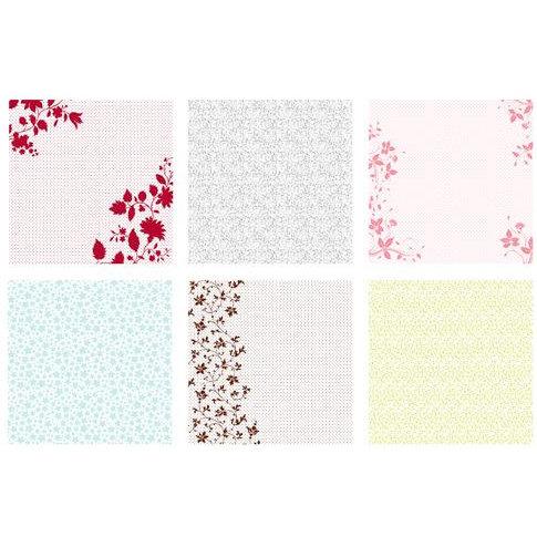 Making Memories - Slice 12 x 12 Paper Multipack - Acetate Mix Pattern