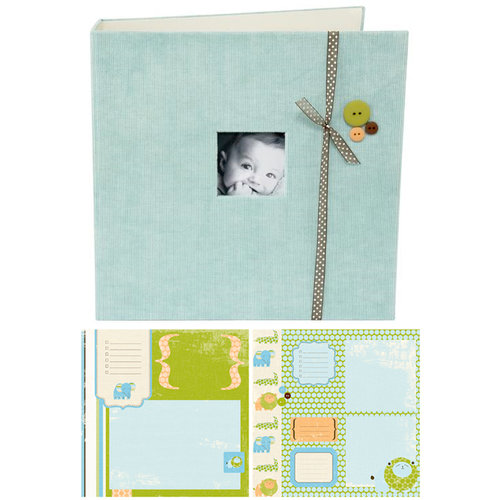 Making Memories - 8 x 8 Pre-Designed Album - Baby Boy
