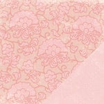 Making Memories - Love Notes Collection - 12 x12 Double Sided Paper - Lace Love Notes, CLEARANCE