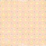 Making Memories - Flower Patch Collection - 12 x 12 Glitter Paper - Chick Flower Patch, CLEARANCE