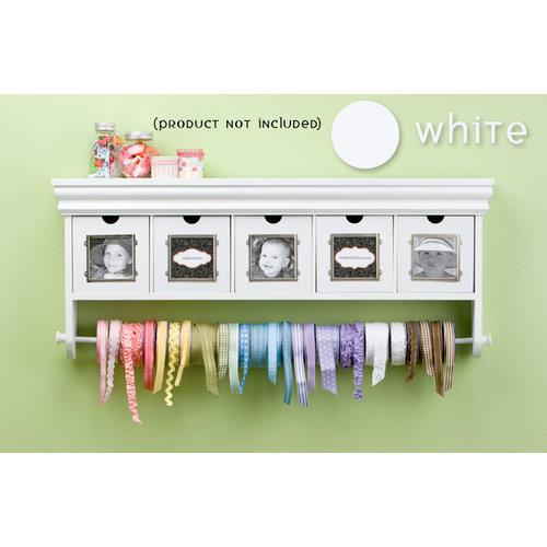 Making Memories - Storage Shelf with Drawers - White