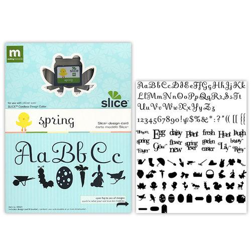 Making Memories - Slice Design Card - Spring