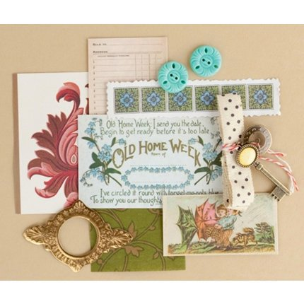 Making Memories - Vintage Findings Collection - Mini Kits - Memories