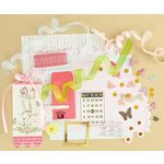 Making Memories - Vintage Findings Collection - Large Kits - Girl