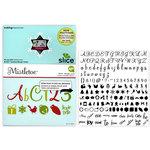 Making Memories - Slice Design Card - Mistletoe