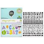 Making Memories - Slice Design Card - Playground Fonts