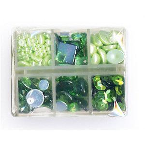 Making Memories - Gem Collection Box - Green, BRAND NEW