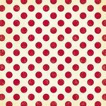 Making Memories - Mistletoe Collection - Christmas - 12 x 12 Glitter Paper - Big Red Dot , BRAND NEW