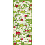 Making Memories - Mistletoe Collection - Christmas - Stickers - Word Fetti , CLEARANCE