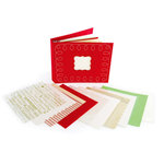 Making Memories - Mistletoe Collection - Christmas - 8 x 8 Porfolio Album