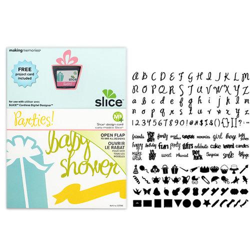 Making Memories - Slice Design Card - Parties!
