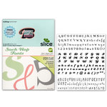 Making Memories - Slice Design Card - Sock Hop Fonts