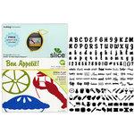 Making Memories - Slice Design Card - Bon Appetit!