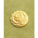Making Memories - Vintage Groove Collection - Jewelry Pendant - Carved Flower