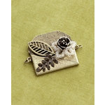 Making Memories - Vintage Groove Collection - Jewelry Pendant - Findings Letter