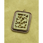 Making Memories - Vintage Groove Collection - Jewelry Pendant - Laser Cut Floral