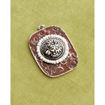 Making Memories - Vintage Groove Collection - Jewelry Pendant - Cloisonne