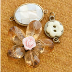 Making Memories - Vintage Groove Collection - Jewelry Designer Combinations - Mosaic Shell