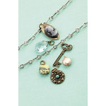 Making Memories - Vintage Groove Collection - Jewelry Kit - Cameo and Glass Charms